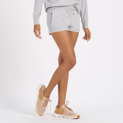 Halo Performance Short | Pale Grey Heather