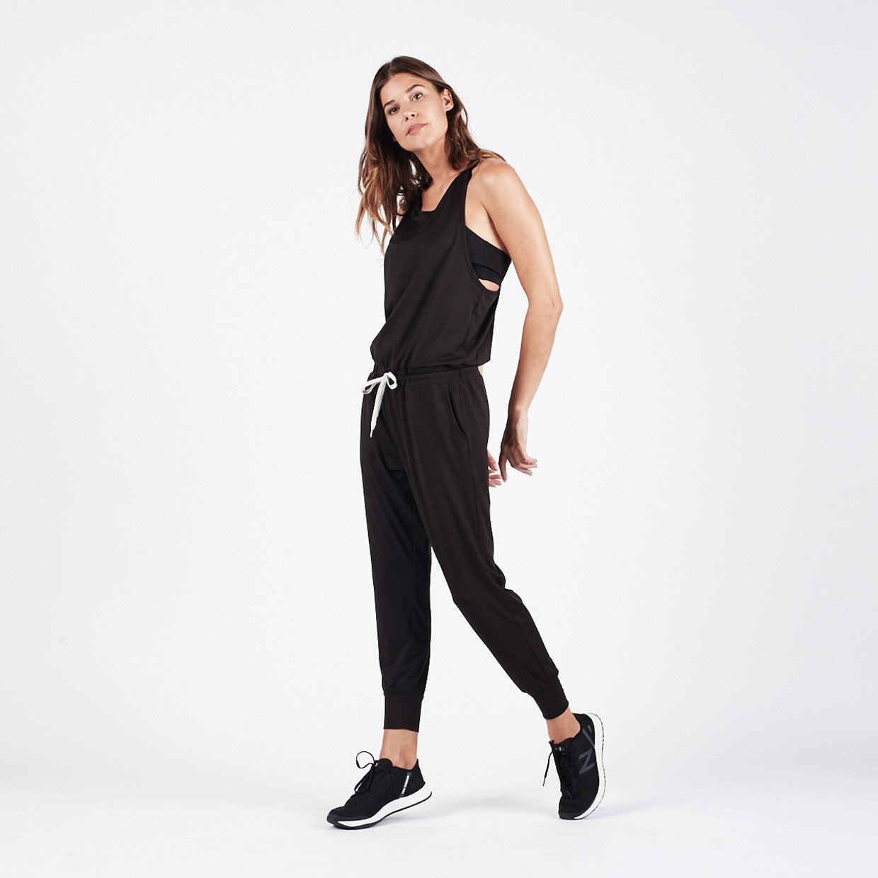 Luna Jumpsuit - Black - Black 1