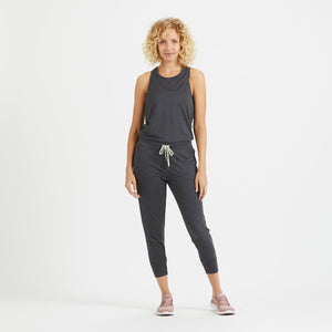 Luna Jumpsuit | Charcoal Heather