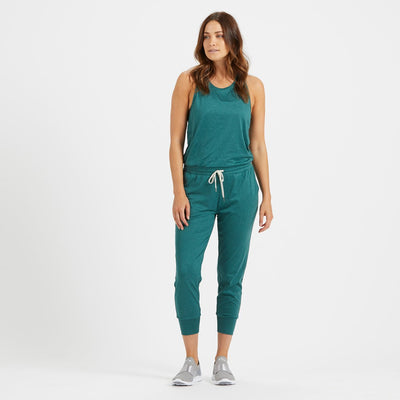 Luna Jumpsuit | Palm Heather