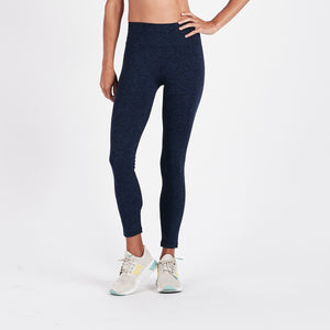Outerlands Mid Rise Legging | Navy Heather