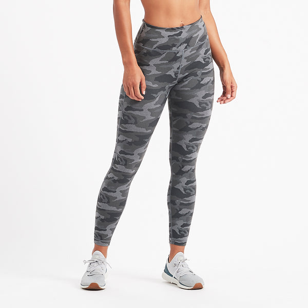 Caspian Legging | Heather Grey Camo