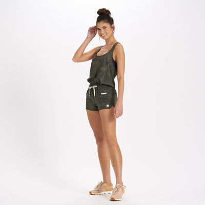 Clementine Romper | Oregano Rainforest