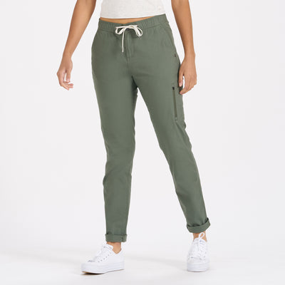 Womens Ripstop Pant - Long | Army