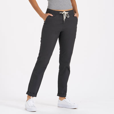 Womens Ripstop Pant - Long | Charcoal
