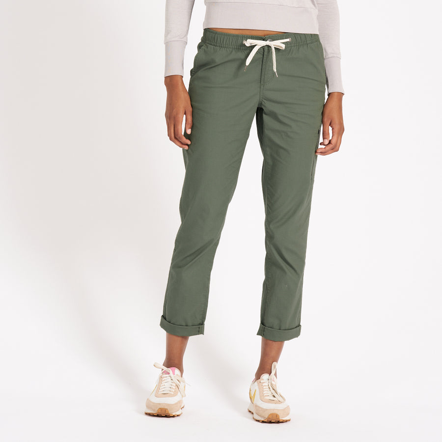 Womens Ripstop Pant  Army