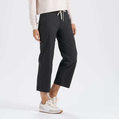 Womens Ripstop Wideleg | Charcoal