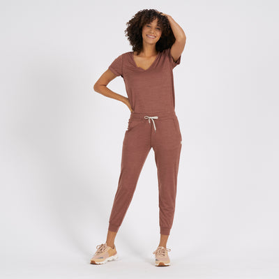 All Day Romper | Terracotta Heather
