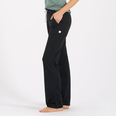 Halo Wideleg Pant | Black