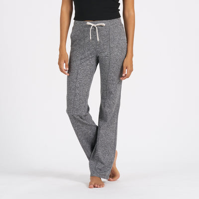 Halo Wideleg Pant | Heather Grey