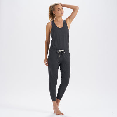 Lux Romper | Charcoal Heather