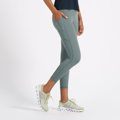 Stride Legging | Kelp