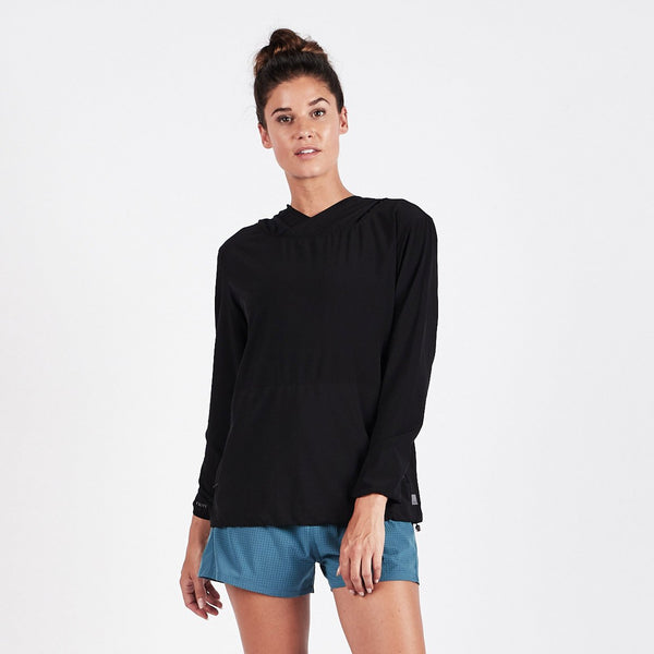 Westerly Packable Pullover | Black