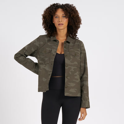 Womens Ripstop Jacket | Oregano Camo