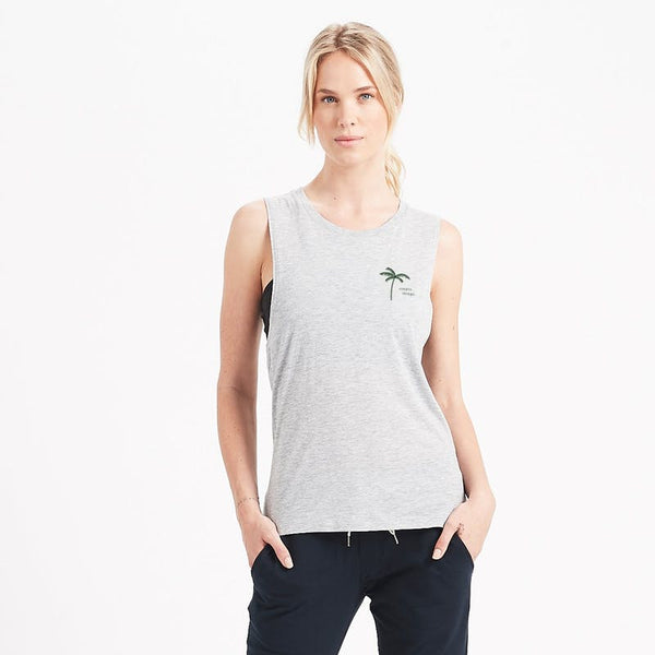 Simple Things Tank | Light Heather
