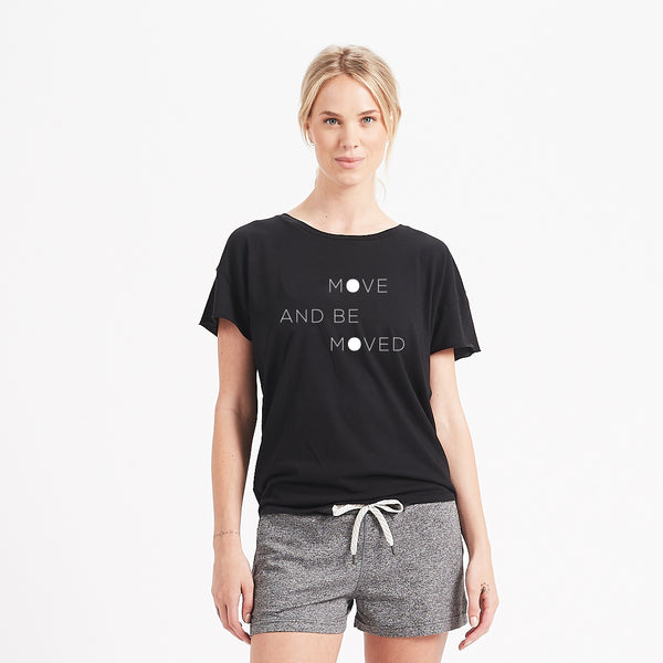Be Moved Tee | Black