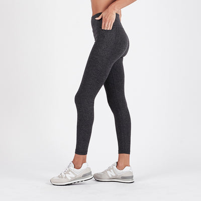 Elevation Performance Legging | Charcoal Heather