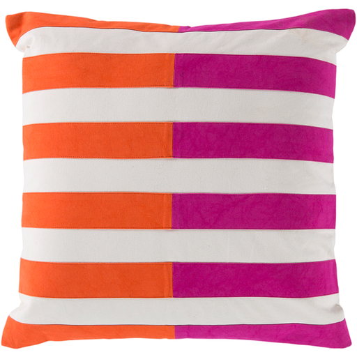 Pink and Orange Pillow