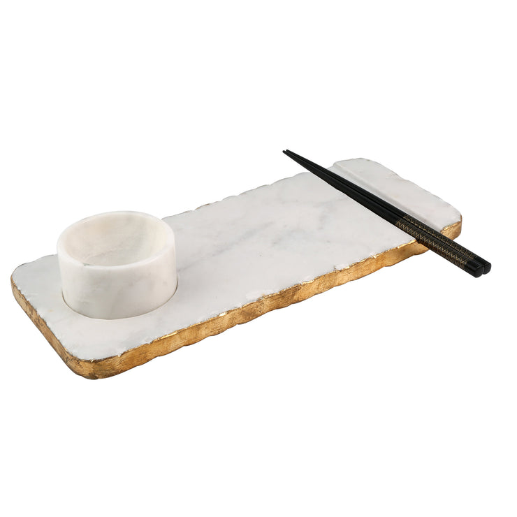 Dipping Tray with Chop Sticks