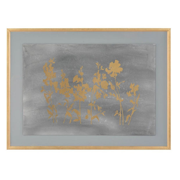 Gold Foil Flower Field