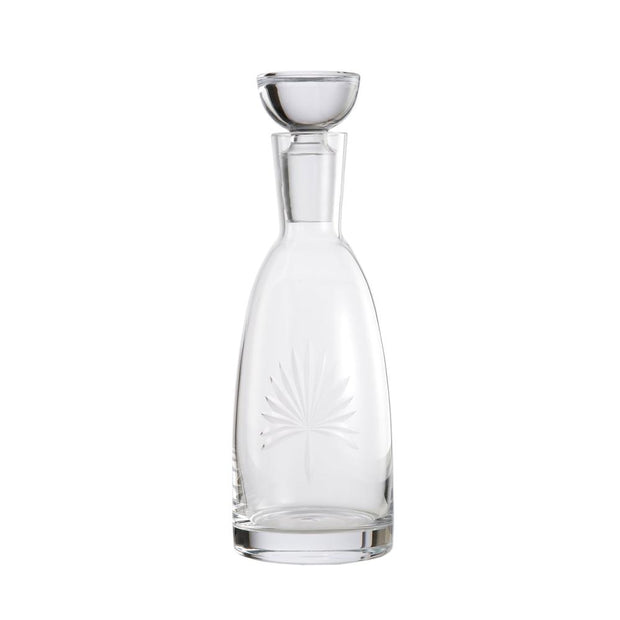 Palm Leaf Decanter