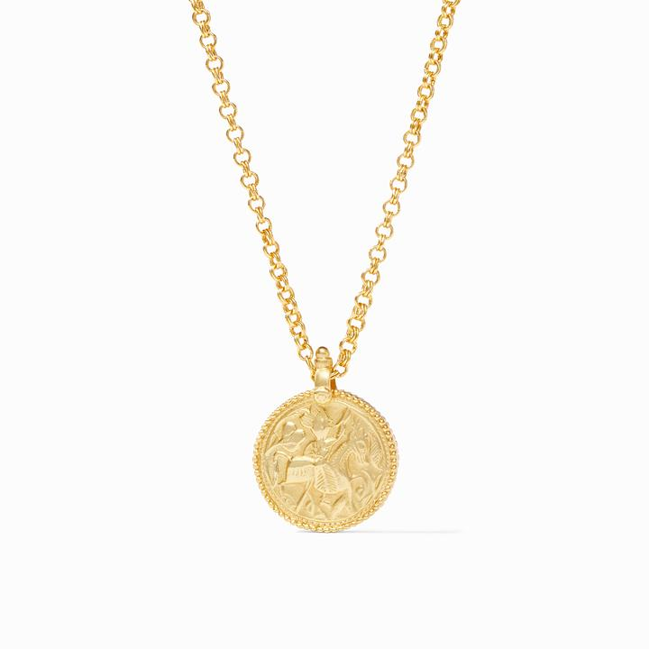 Coin Pendant Necklace