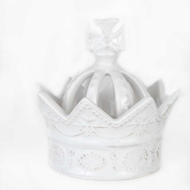White Condiment Crown