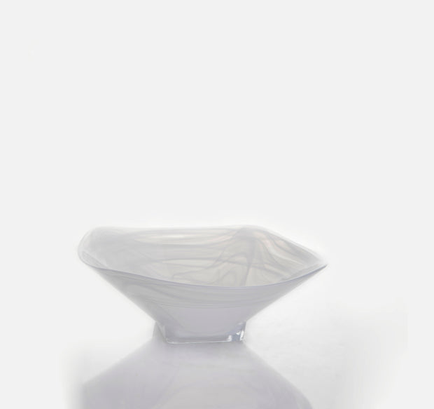 White Alabaster Glass Bowls