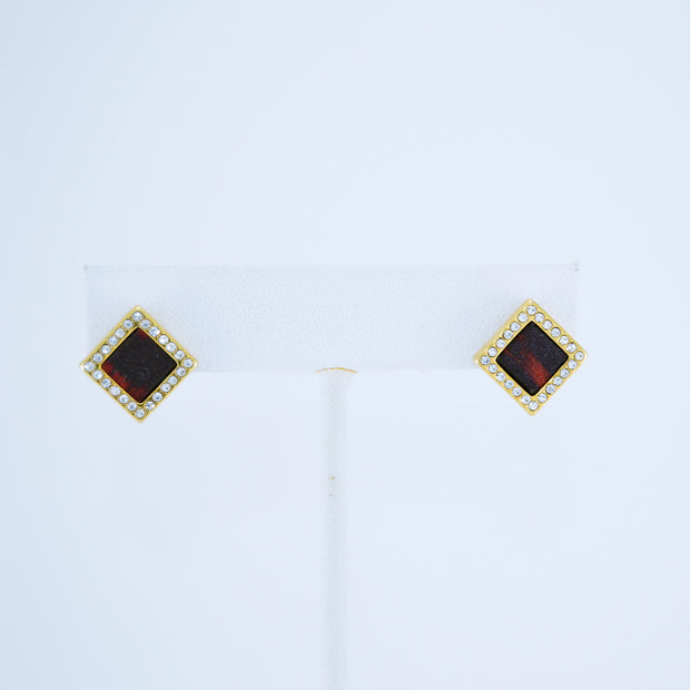 Cloth Stud Earrings