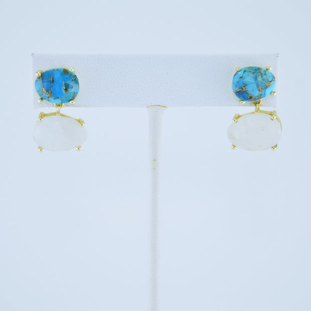 Two Stone Earring