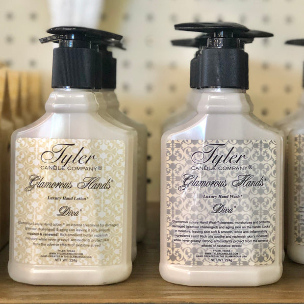 Tyler Hand Lotion & Hand Wash