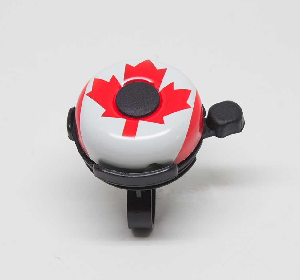 49N CANADIAN FLAG BICYCLE BELL