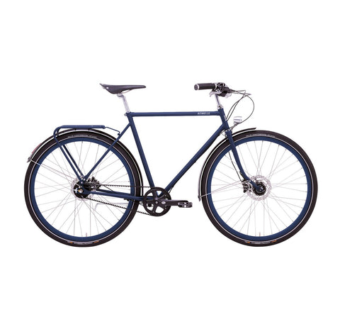 EMMA - E-BIKE - DUTCH STEP-THRU - GATES - MATTE NIGHT BLUE - DEPOSIT