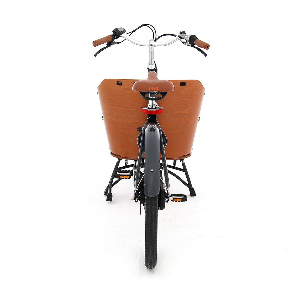 Babboe Mini Mountain - Dutch Two-Wheeled Cargo Bike With Yamaha Motor