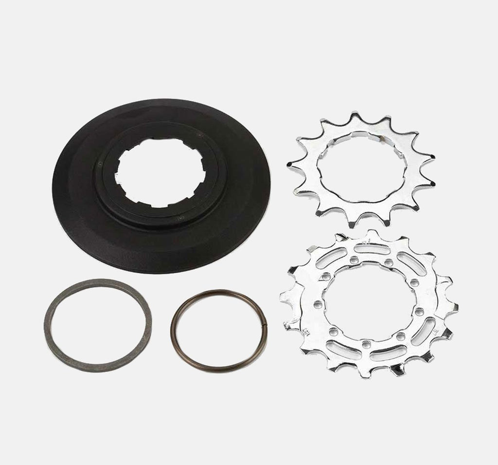 Brompton Replacement Sprocket & Disc Set - 6 Speed 13/16T 9-Spline