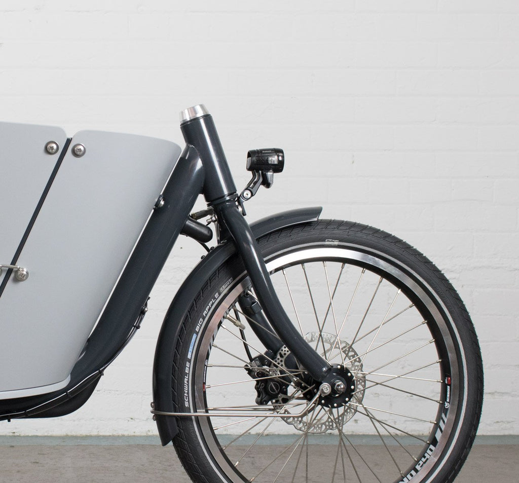Babboe City Mountain Cargo Bike with Yamaha E-Assist in Grey