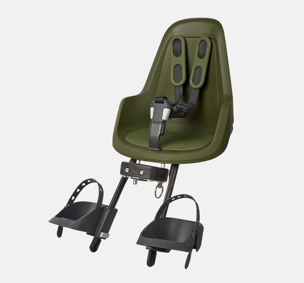 Bobike One Mini Front Baby Seat - Olive Green