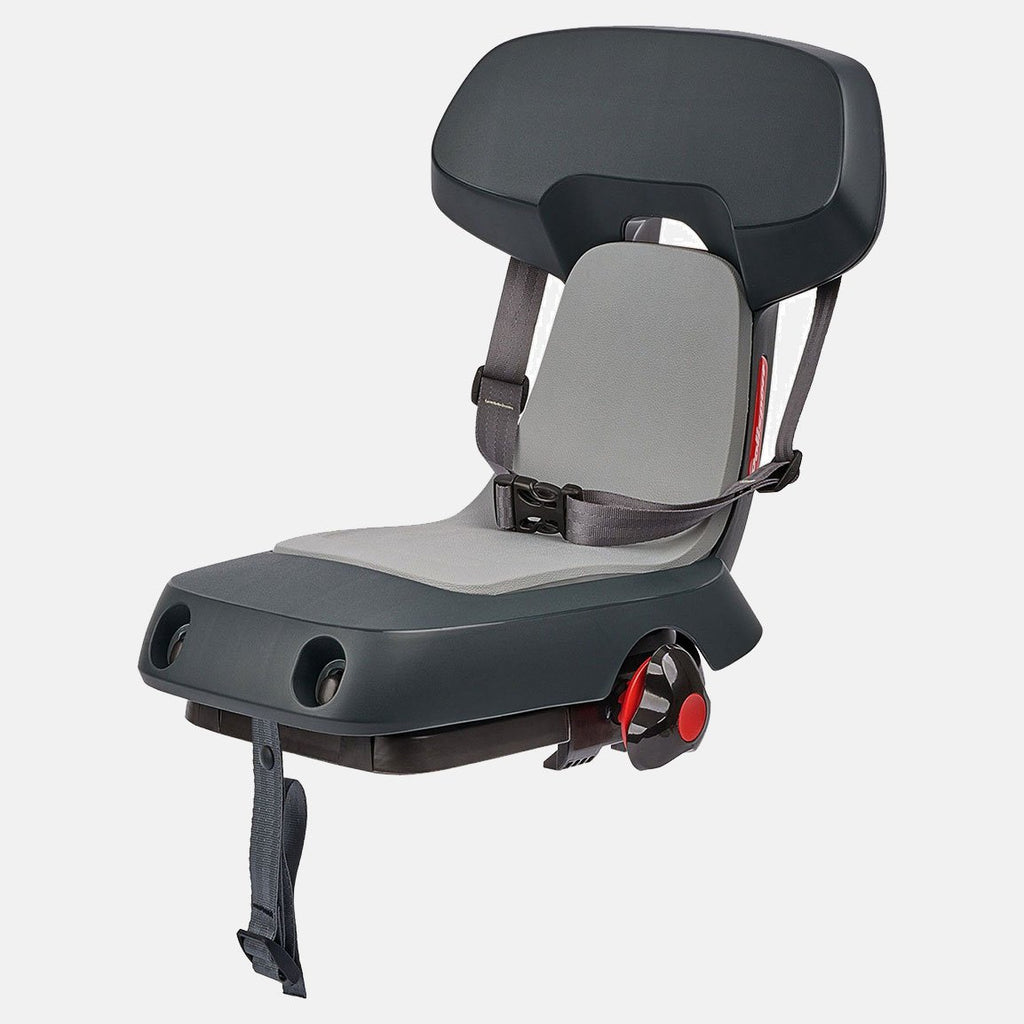 Polisport Guppy Junior Rear Mount Child Seat (Dark Grey)