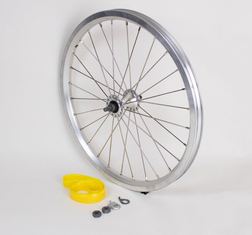 Brompton Standard Radial Front Wheel in Silver