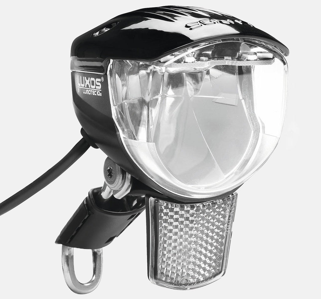 B&M Luxos U Dynamo Front Light with IQ2 Technology and USB Output
