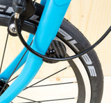 Nov Design Carbon Cable Fender Disc for E-Type Brompton Bikes
