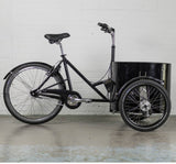 Nihola Low Easy Access Cargo Trike - Drive Side View