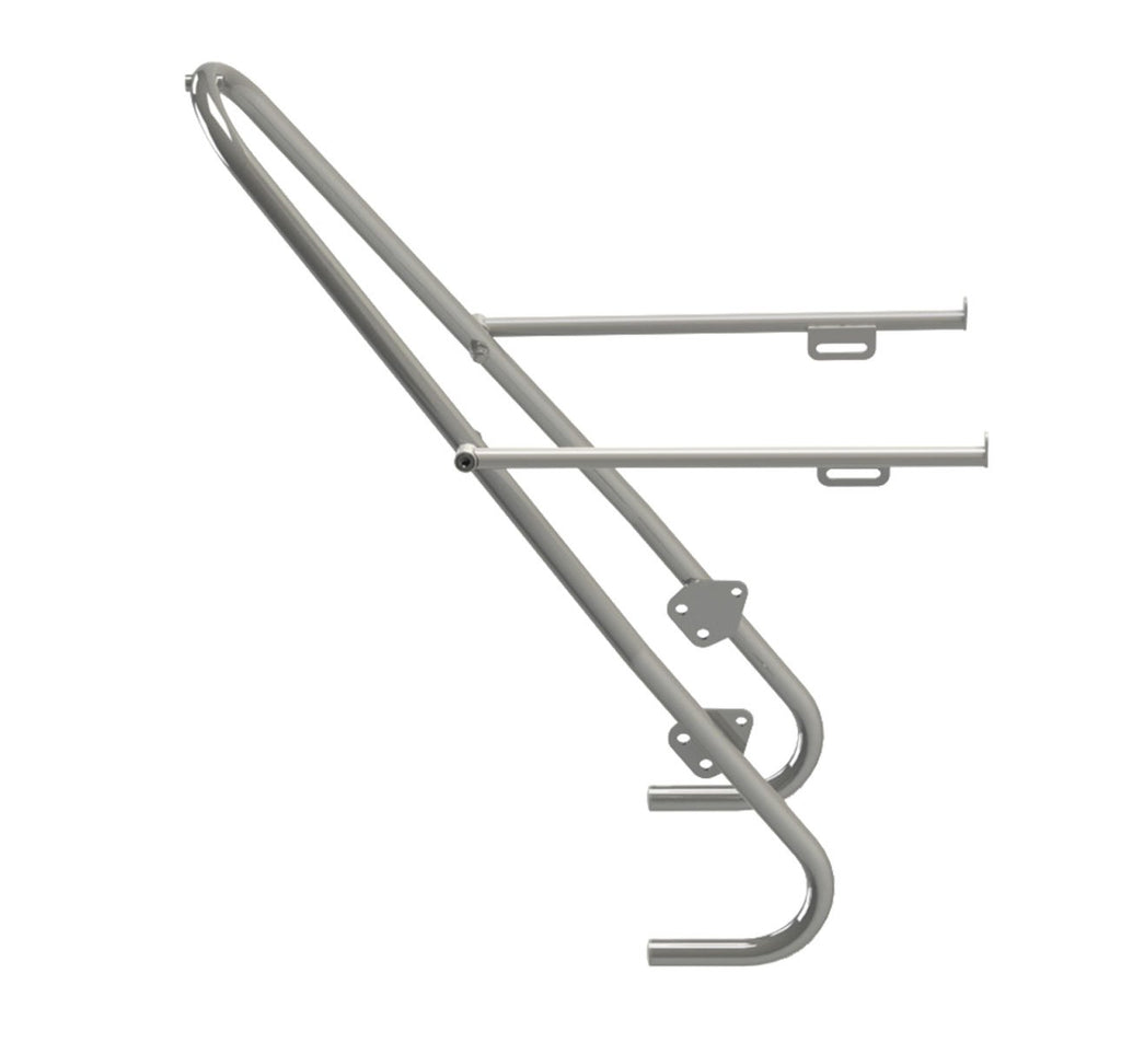 Tubus Tara Front Pannier Rack in Stainless Steel