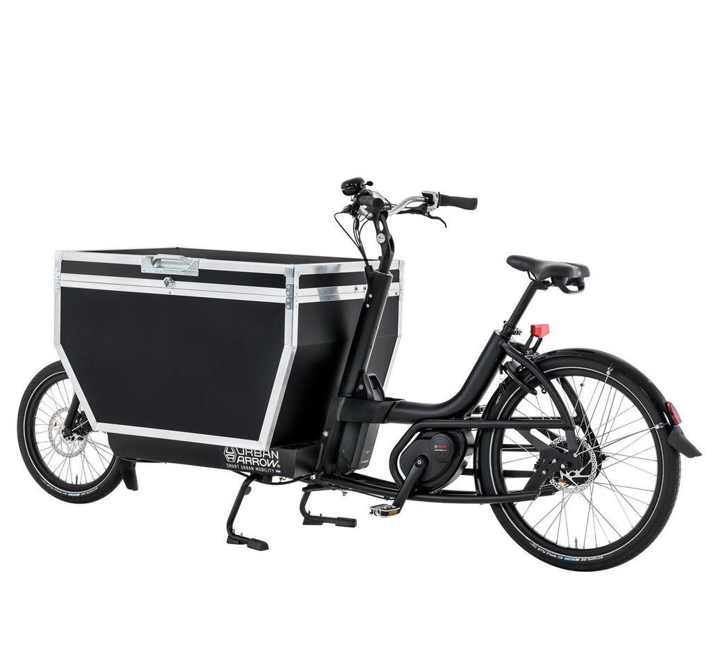 URBAN ARROW FLATBED WITH FLIGHT CASE IN BLACK