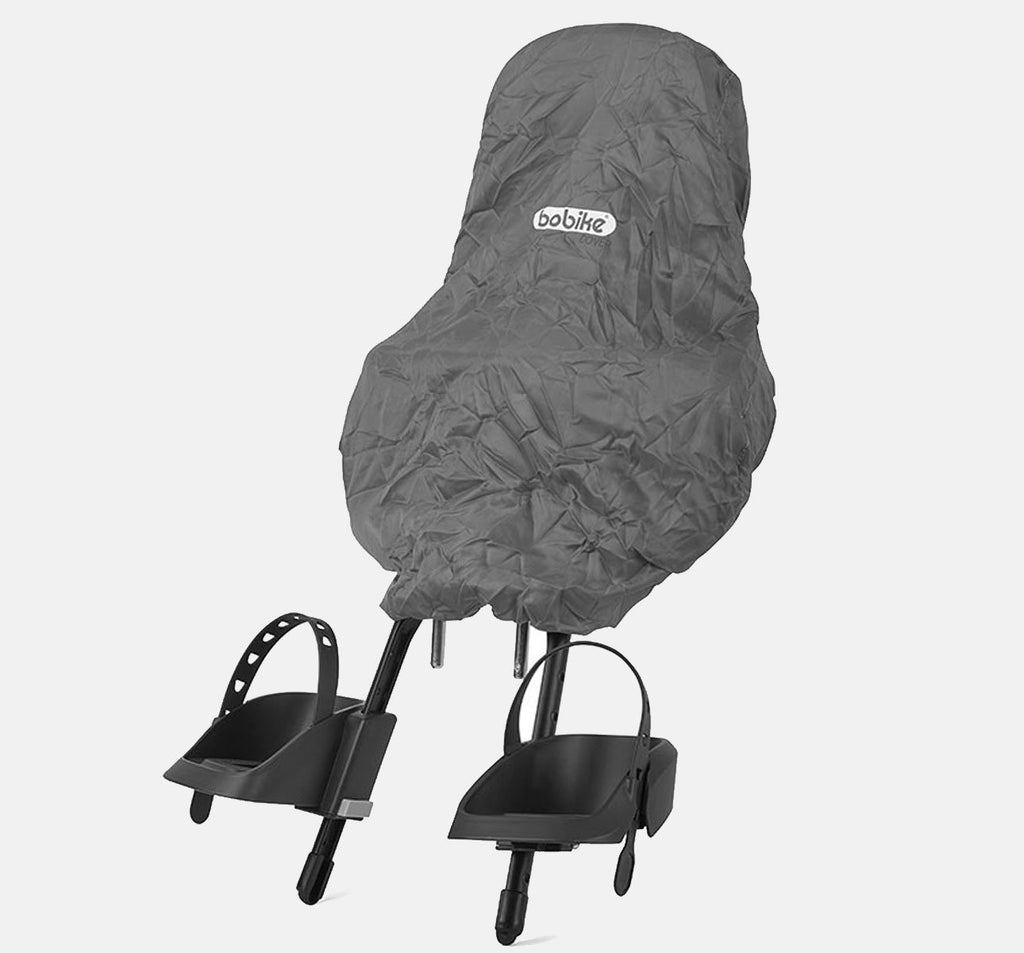 Bobike Raincover on a ONE Mini Baby Seat
