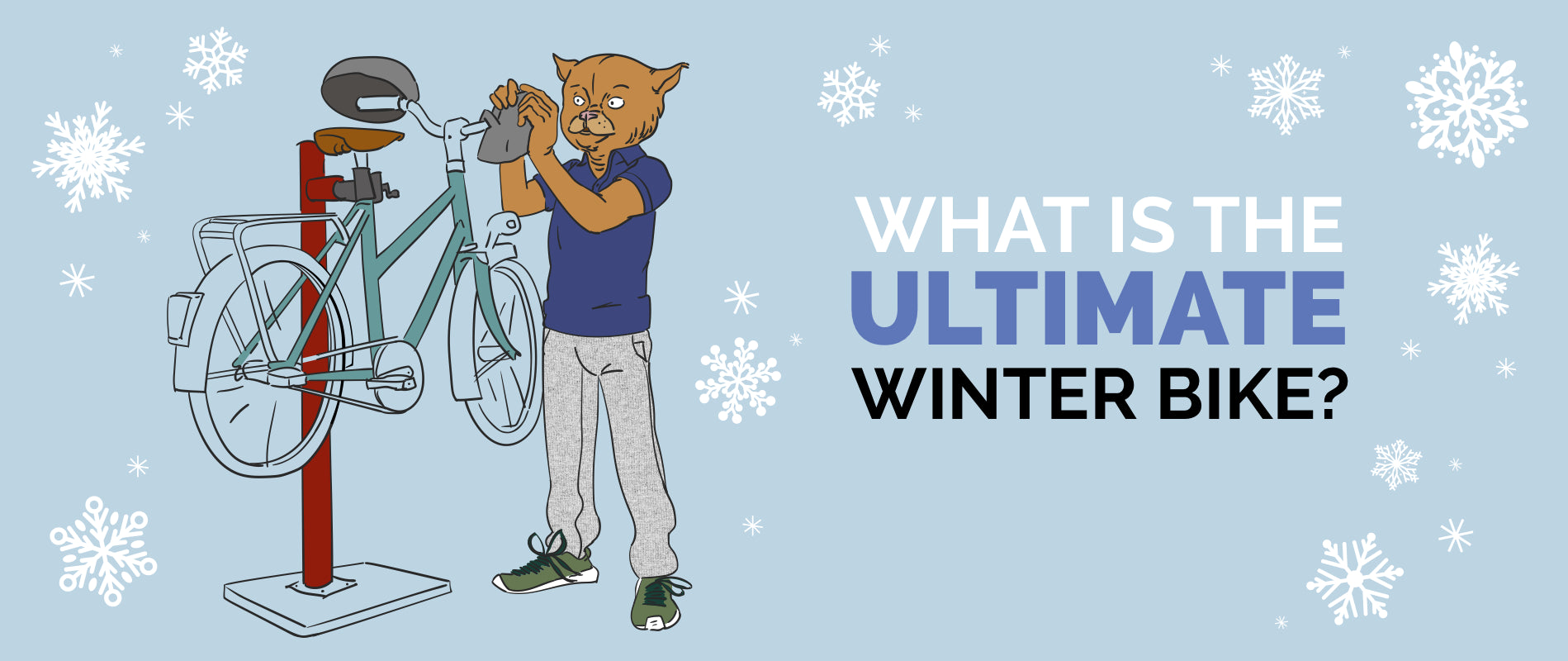 What's the ultimate winter bike?