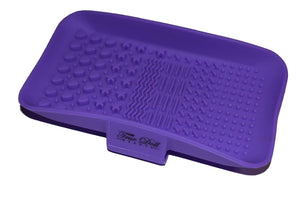 Purple Makeup Brush Cleaning Pad
