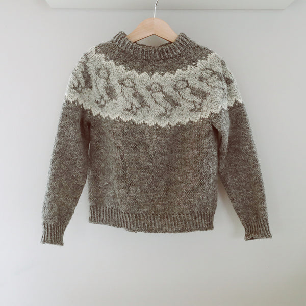 Lundar Sweater knit pattern