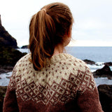 Big Bohéme sweater PDF knitting pattern