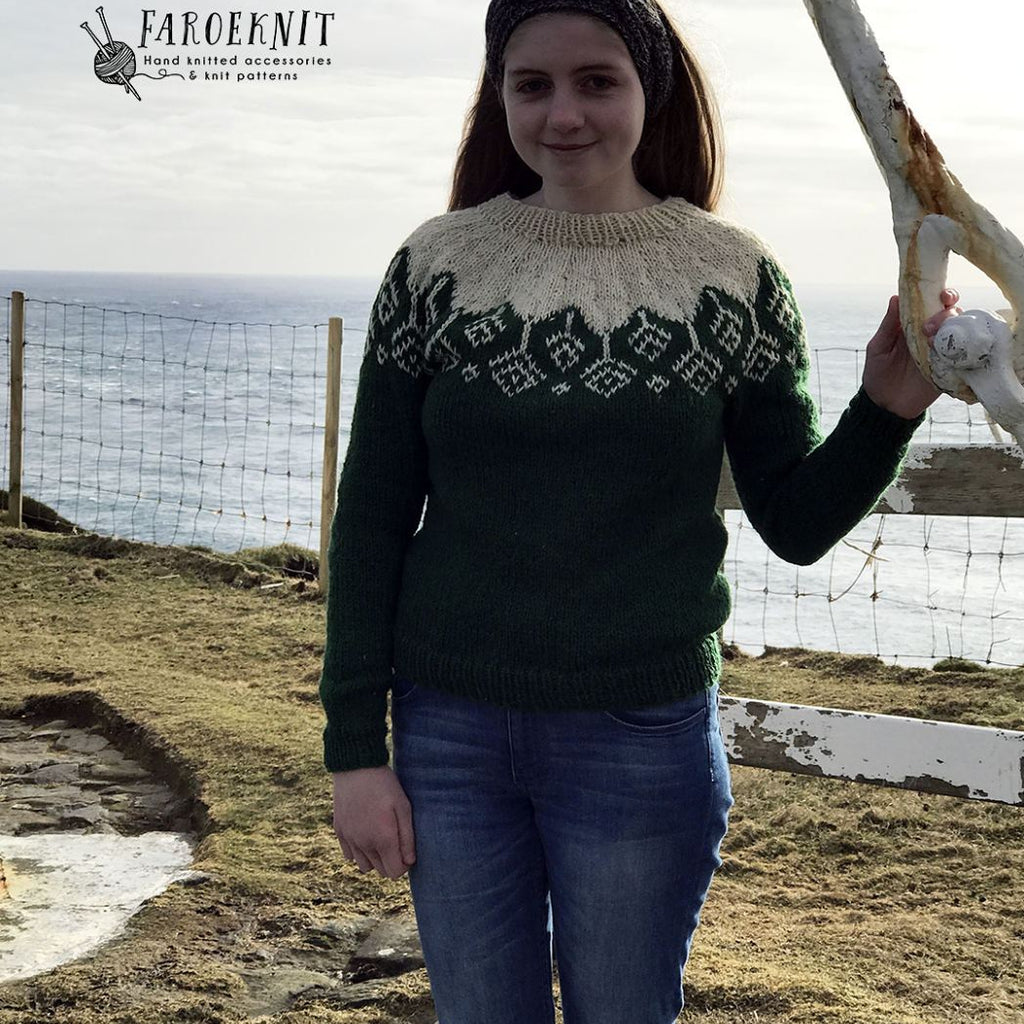 Akraberg Sweater PDF pattern